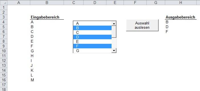 Excel Vba Userform Tabellenblatt Aktivieren : Excel inside solutions einträge aus listbox auslesen