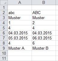 Excel-Inside Solutions - Zwei Spalten schnell vergleichen