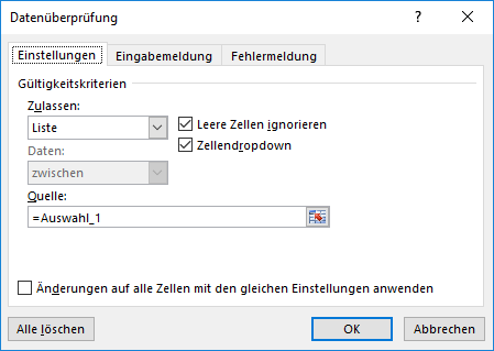 dropdown einmalauswahl 3