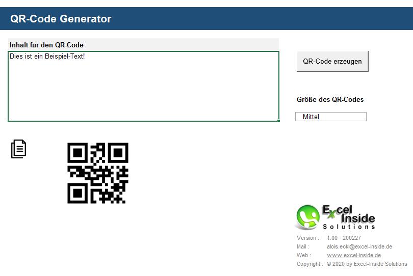 qr code mit excel erstellen