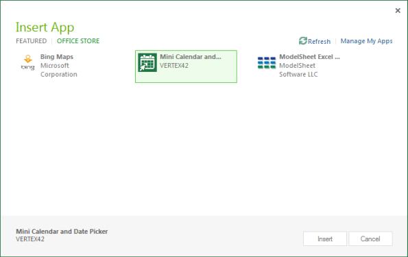 Apps aus dem Microsoft App-Store beziehen und in Office 2013 verwenden