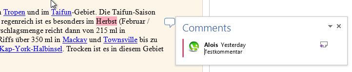 Die neue Lese-Funktion in Word 2013