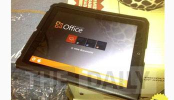 Wird es Microsoft Office 15 bald auf dem iPad geben?
