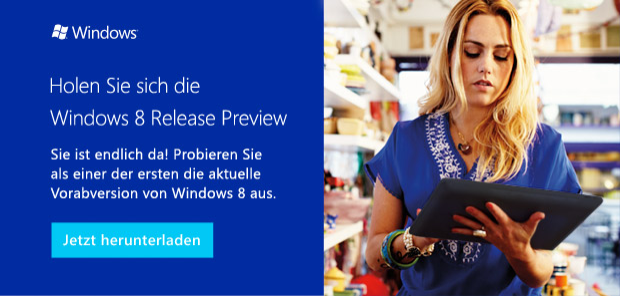 Windows 8 Release Preview Download