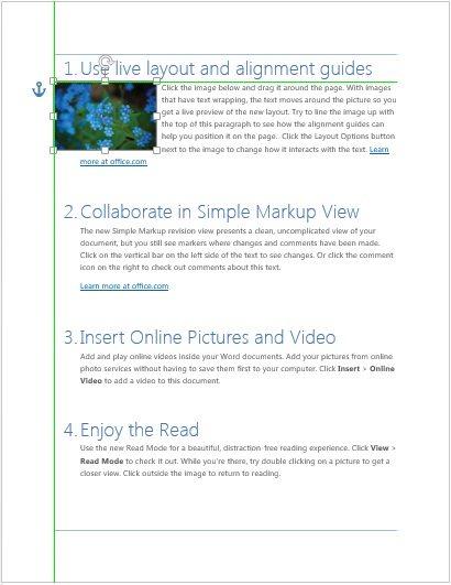 Word 2013: Einfachere Bildbearbeitung durch neue Funktionen